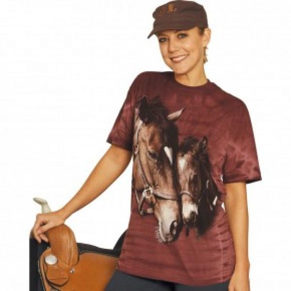 """Футболка""""Two Hearts"""" купить в интернет магазине конной амуниции"""