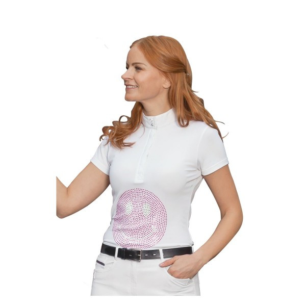 """Рубашка турнирная """"Smiley"""" женская, black forest купить в интернет магазине конной амуниции"""